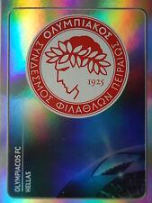 Panini 379 Logo Emblem Olympiacos FC UEFA CL 2011/12
