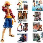 Hot Anime One Piece Figurine Figure Toy Luffy /Nami /Ace /Zoro /Sanji New In Box