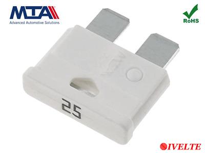 10 Stück 25 Ampere Standard Normal 19mm Sicherung ATO, ATC KFZ LKW Sicherungen