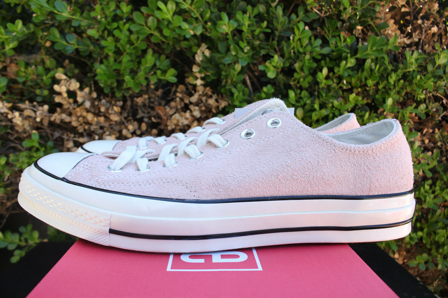 Converse Chuck Taylor All All All Star 70 OX SZ 8.5 TRAMONTO ROSA Egret CT 1970 157587 C c9e557
