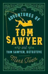 The-Adventures-of-Tom-Sawyer-and-Tom-Sawyer-Detective-ExLib-by-Mark-Twain