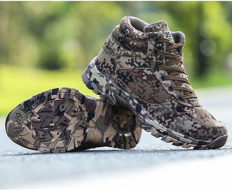 Nuovo campo scalare stivali mimetici outdoor Uomo tattico deserto deserto deserto correndo trainer le scarpe f3b00f