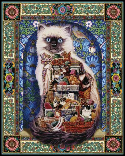 Counted Cross Stitch Patterns Decor Cat Collection 4 Color Symbols Charts