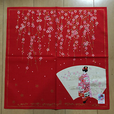 F//S Noren Japanese Door Curtain Tapestry Kyoto Maiko Kiyomizu Temple Cotton 100/%