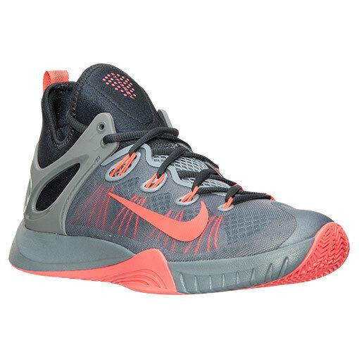 705370-080 Nike HyperRev 2015 Basketball grau Hot Lava Charcoal Sz 8-13 NIB