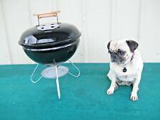 Vintage Weber Bbq Grill Mini 14 Kettle Black N Year 1991