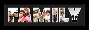 Famille-mot-Photo-cadre-3D-Personnalise-Nom-Cadre-parfait-cadeau-pour-famille
