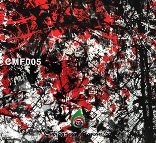 Hydrographics  water transfer film cubicatura pellicola camouflage CMF005