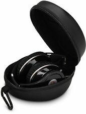 Hard Carrying Case Headphones Bag for Beats HD Solo 2 & Monster DNA (Black)