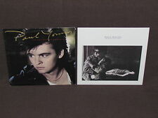PAUL YOUNG 2 LP RECORD ALBUMS LOT COLLECTION Secret Of Association/Between Fires