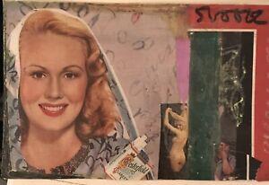 Collage Mail Art Steve Camaro Large Postcard ORIGINAL Art vintage Images