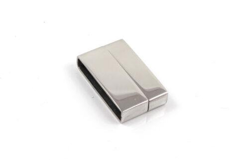 3x Edelstahl Magnetverschlüsse ID 20 x 3,5 mm armband herstellen
