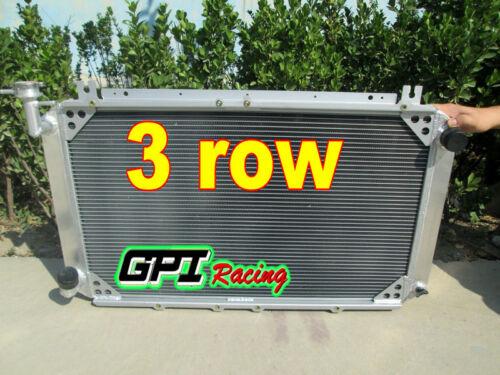 56mm 3 rows For NISSAN PATROL GQ SAFARI y60 MT aluminum radiator