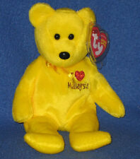 TY I LOVE MALAYSIA the BEAR BEANIE BABY - MINT with MINT TAGS