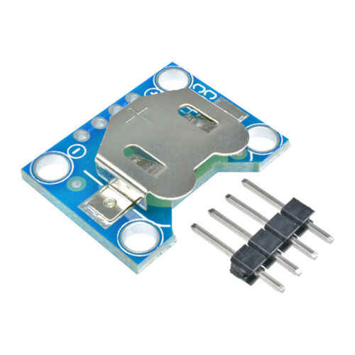 CR1220//CR2032 12mm//20mm Coin Cell Breakout Board Button Battery Holder Module