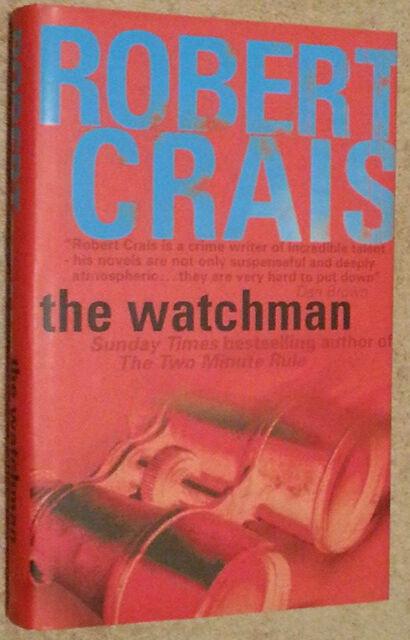 Robert Crais SIGNED The Watchman UKHC