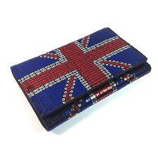 IRON Fist Donna Union Jack Red White & Blue Paillettes purse / Wallet