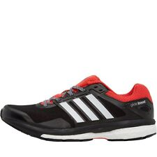 0b5d9805361 ADIDAS SUPERNOVA GLIDE BOOST 7 RUNNING SHOES BLACK WHITE ORANGE -SIZE 6.5 -