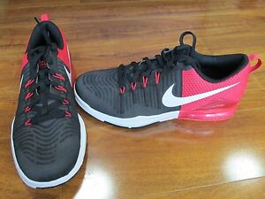 e2ca0fd9047c NEW NIKE ZOOM TRAIN ACTION TRAINING SHOES MENS 8.5 Black Red 852438 ...