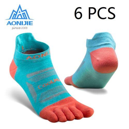 Five Fingers Running Socks Outdoor Men Women For Running//Marathon Race