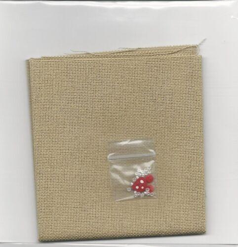 Linen Buttons /& Beads Lizzie Kate Christmas Snow Dudes Cross Stitch Charts