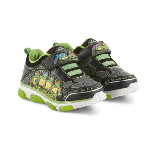 Toddler Boy/'s Teenage Mutant Ninja Turtles Sneaker Light-up 9,10,11,12 Sz