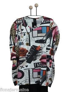 50 Chemise Bigshirt Beige Chêne Longshirt 52 48 Escaladya Luxus Excellents Print 46 q0xaTxE