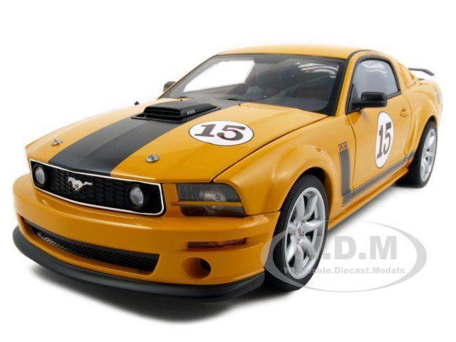 Parnelli jones saleen mustang   15 Orange 1,18 ein diecast modell - auto von autoart 73055