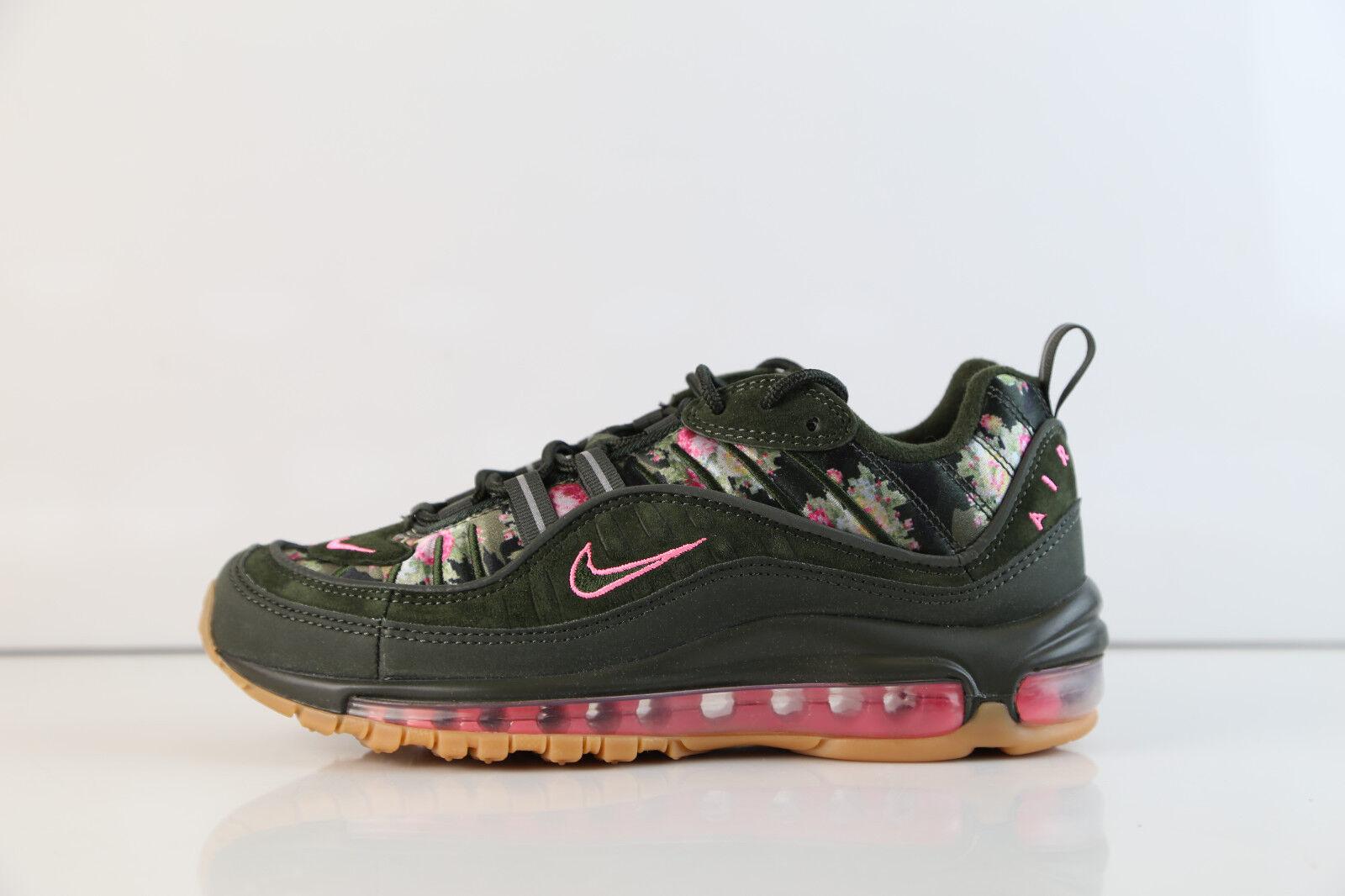 Nike Womens Air Max 98 Sequoia Floral AQ6468-300 6-12 green prm 1