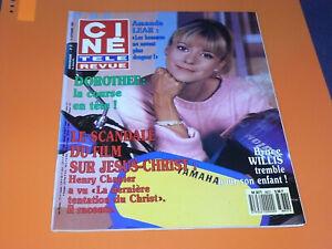 CINE-TELE-REVUE-N-37-15-09-1988-DOROTHEE-AMANDA-LEAR