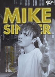 MIKE-SINGER-A2-Poster-XL-42-x-55-cm-Deja-Vu-Clippings-Fan-Sammlung-NEU