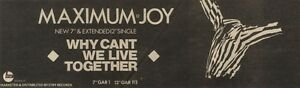 30-4-83PN16-ADVERT-MAXIMUM-JOY-SINGLE-WHY-CANT-WE-LIVE-TOGETHER