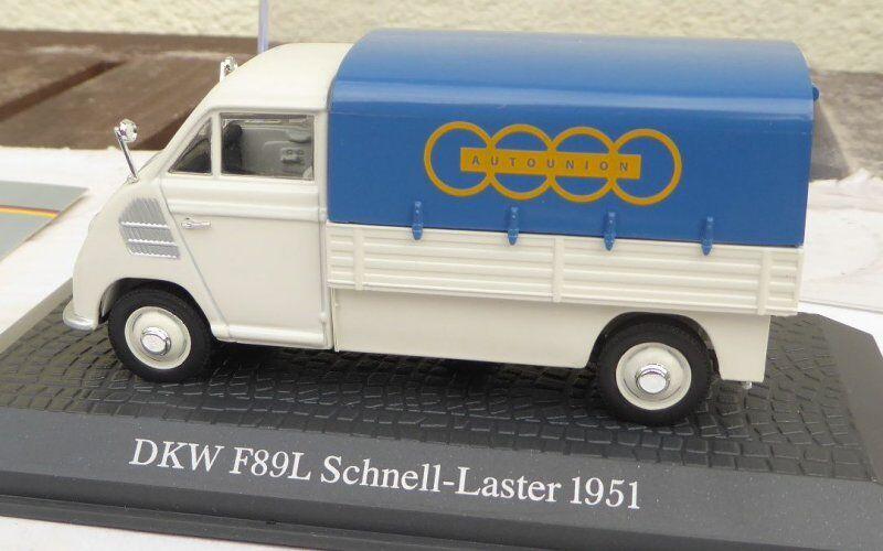 Atlas Editorial 1 43 Escala 0 DKW F89L Transporter  Auto Union  argentoforma Von