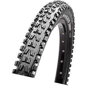 Maxxis Minion DHF 27.5x2.50WT 60 TPI Folding Dual Compound EXO   TR tyre negro