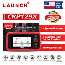 Launch Crp129x Auto Obd2 Diagnostic Tool Auto Scanner Transmission Tpms Throttle