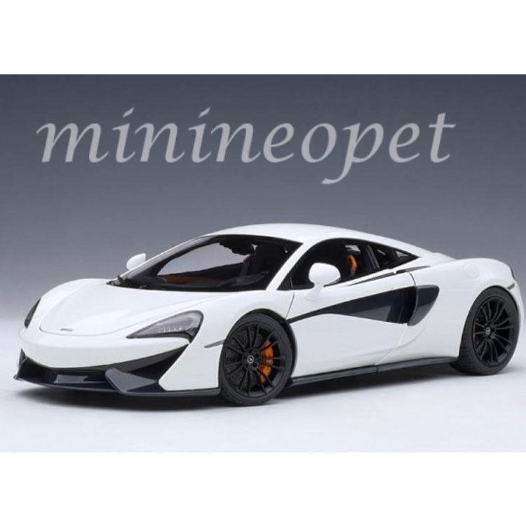 AUTOART 76041 McLaren 570 S 1  18 Voiture Modèle Blanc Avec Noir Roues  achats en ligne et magasin de mode
