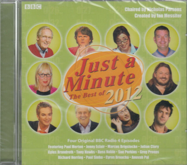 Just A Minute The Best Of 2012 Audio 2CD NEW Comedy Game Show BBC Radio 4