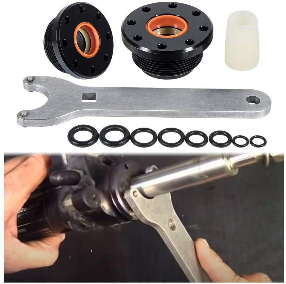 HC5347 HC5343 HC5342 HC5341 HC5346 HC5344 Front Mount Hydraulic Steering Cylinder Seal Kit with Pin Wrench Fit for HC5340 HC5345 HC5348 etc.