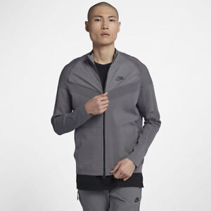 80662577a Nike Sportswear Tech Knit Mens Jacket Gray 886150-036 New With Tags ...