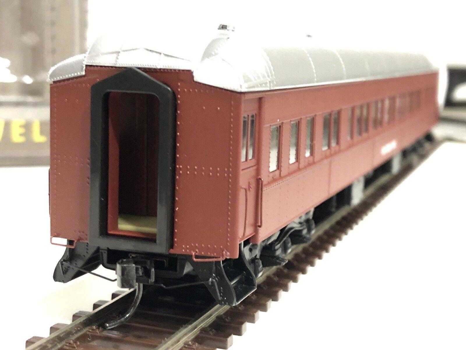 HO - ho Walthers, HO modelloismo Ferroviario- Ferroviario- Ferroviario- Vagón Pasajeros Pulluomo, 932-10021 bfa7d5