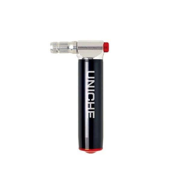 Unich Co2 Injector Pro Pump Tyre Bicycle Bike Inflator Aluminium Silver  64:11