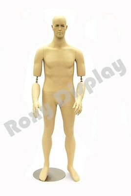 Fiberglass Male Dummy Mannequin Manikin Dress form Display Clothing #MD-BC10