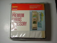 Martha Stewart Everyday Hanging 6-shelf Canvas Accessory Bag 12w By 12d X 48h