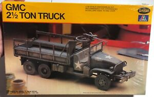 Italeri-Testors-GMC-2-1-2-Ton-Truck-1-35-NEW-FS-Model-Kit-Sullys-Hobbies
