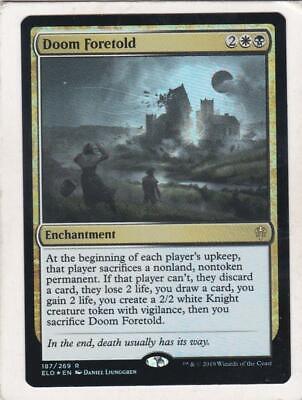Doom Foretold x4 Throne of Eldraine 4x Cards Magic MTG