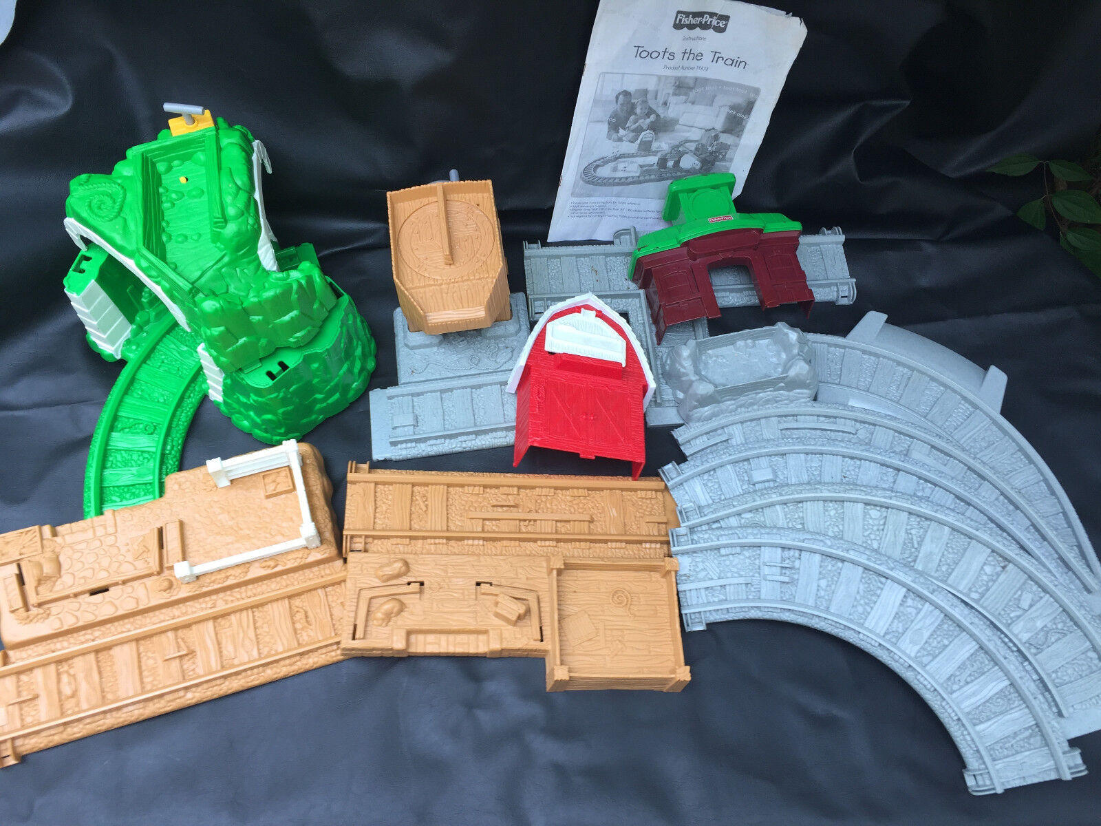 Toots the Train Fisher-Price 74878 with instructions Mattel 1999 not complete