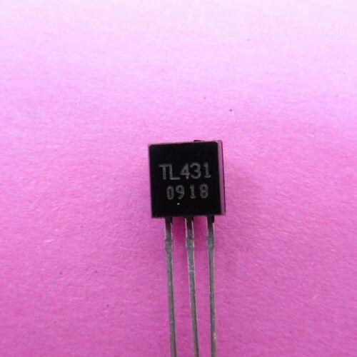 Precisión ajustable TL431 TO-92 regulador de derivación TL431A Voltaje ref 2.495V