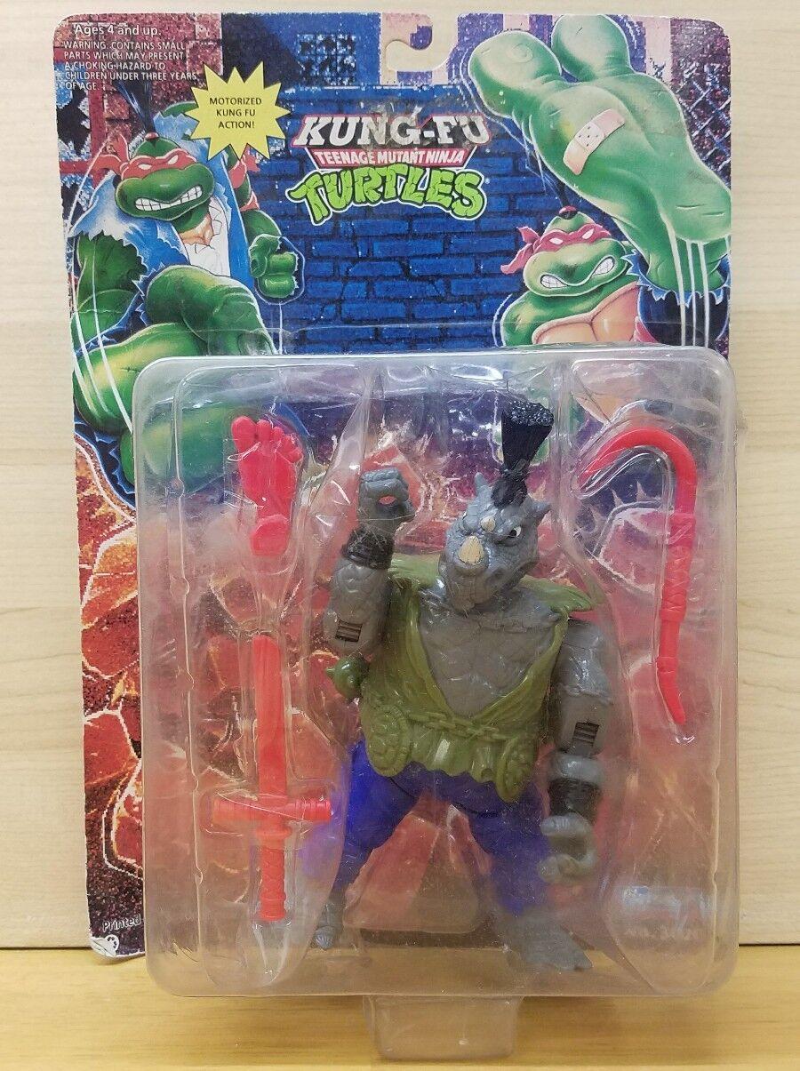 comprar nuevo barato Tmnt Kung Fu Rocksteady 1994 Tortugas Ninja Jugarmates Raro    por Favor Leer   tiendas minoristas