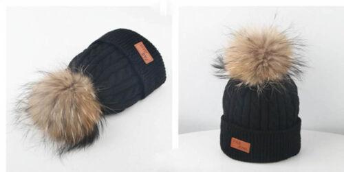 Toddler Kid Girl/&Boy Baby Infant Winter Crochet Knit Hat Beanie Hairball Cap XI