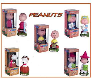 PEANUTS-GREAT-PUMPKIN-HALLOWEEN-Charlie-Lucy-Snoopy-Linus-Sally-5-bobbles-Funko